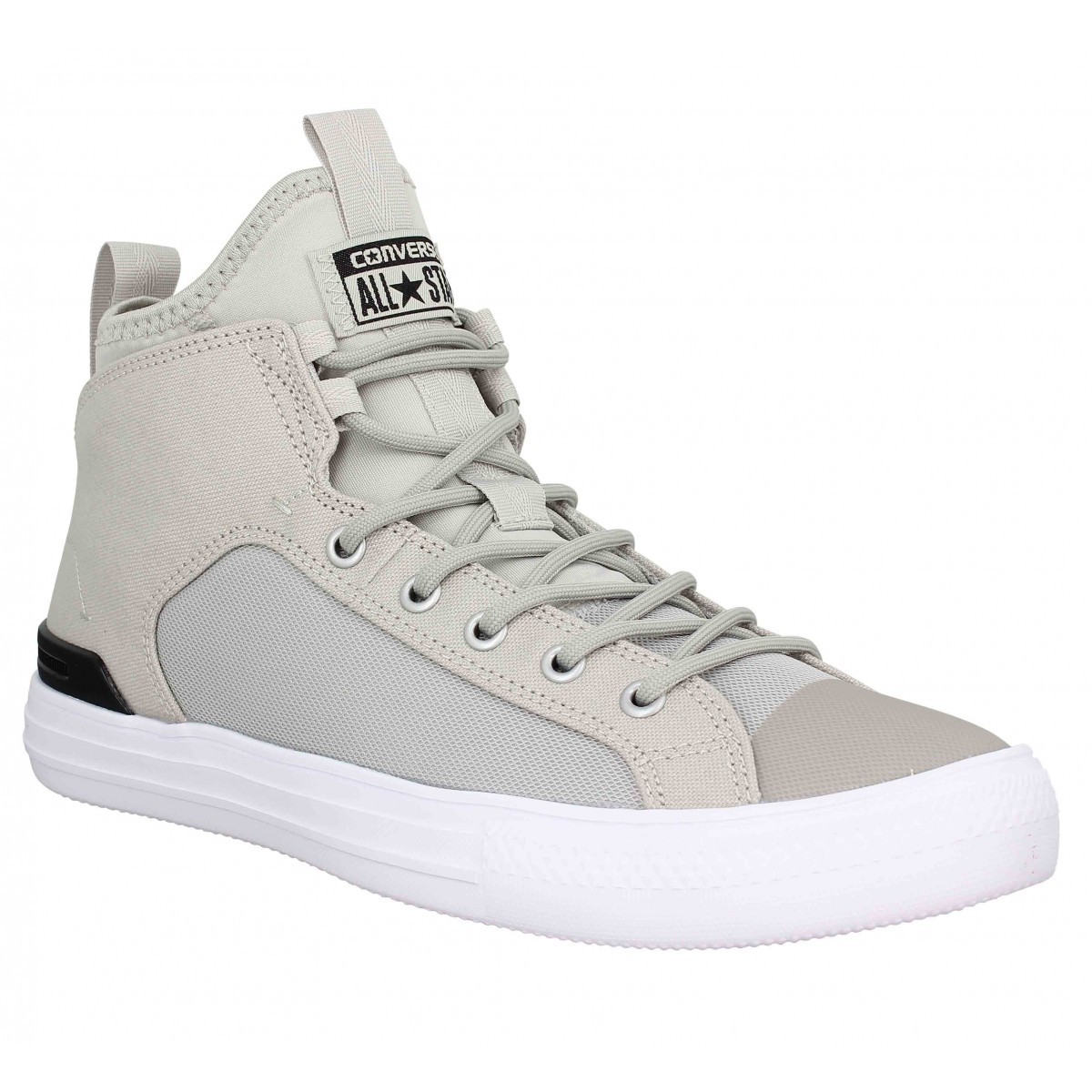 Baskets CONVERSE Chuck Taylor All Star Ultra Mid toile Homme Gris