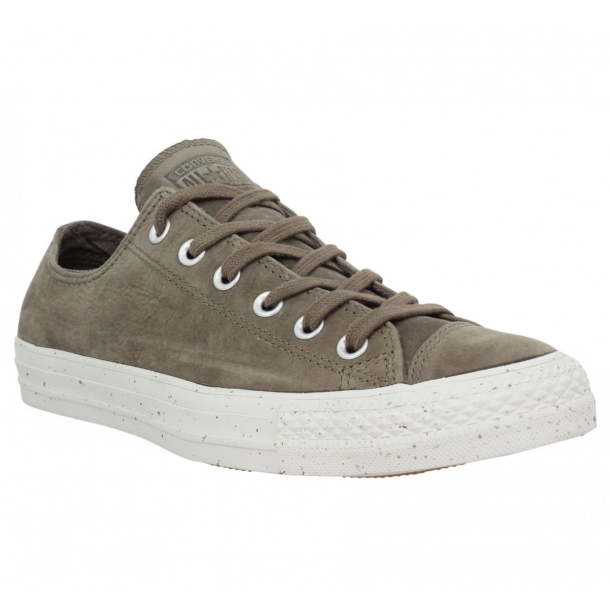 Baskets CONVERSE Chuck Taylor All Star velours Homme Tobacco