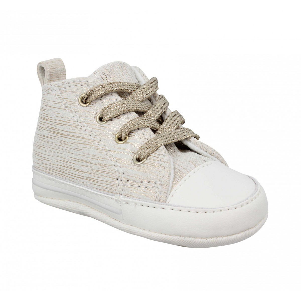 basket converse doree