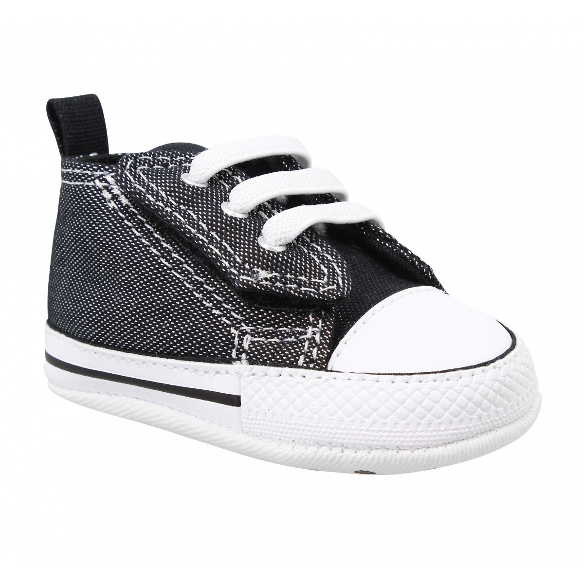 Baskets CONVERSE First Star Easy Slip Enfant Noir