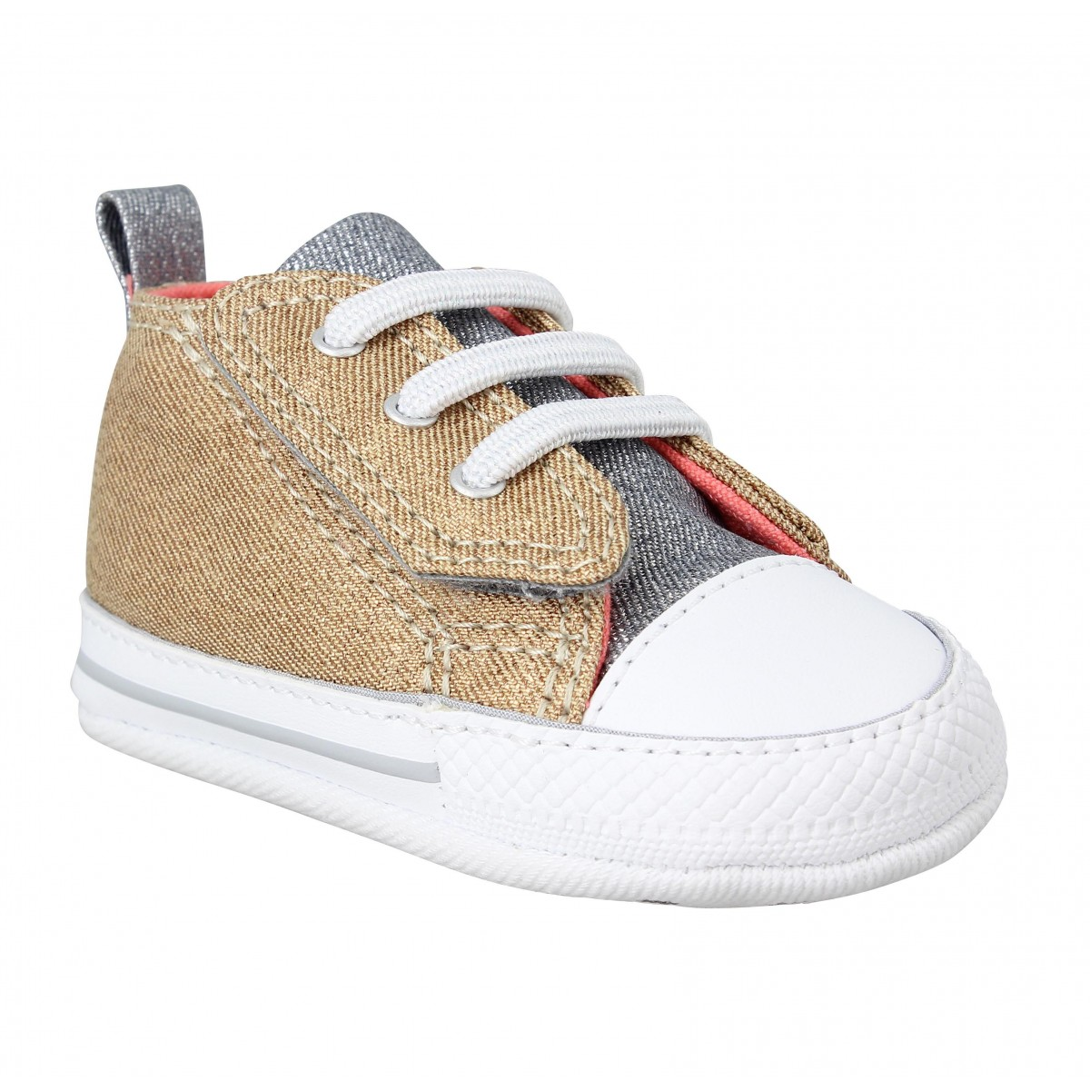 Baskets CONVERSE First Star Easy Slip toile Enfant Gold