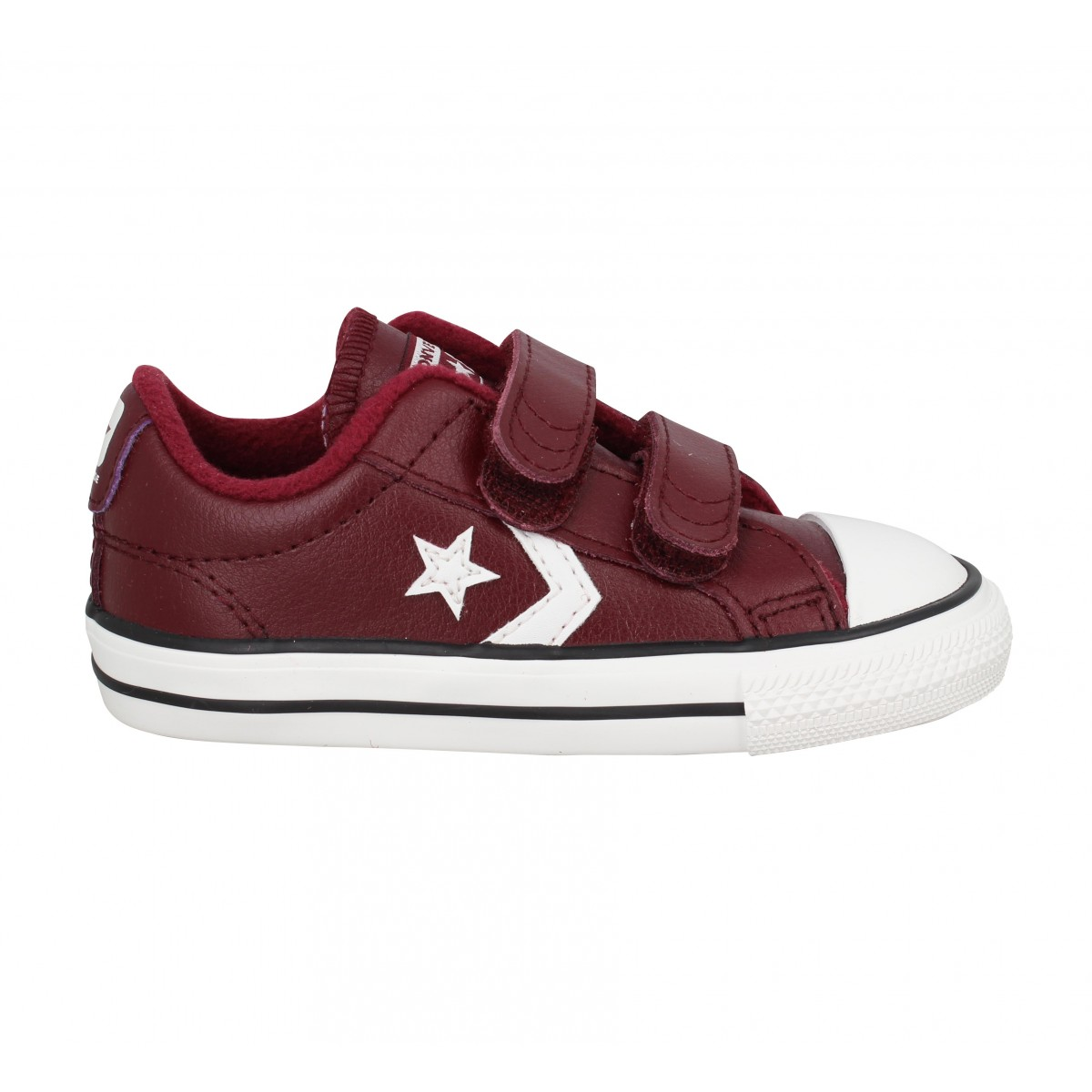 converse star player velour rouge