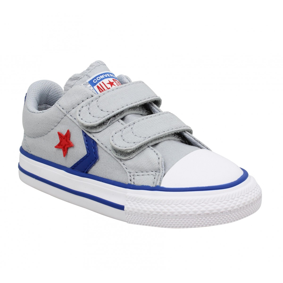 Baskets CONVERSE Star Player 2V OX toile Enfant Grey