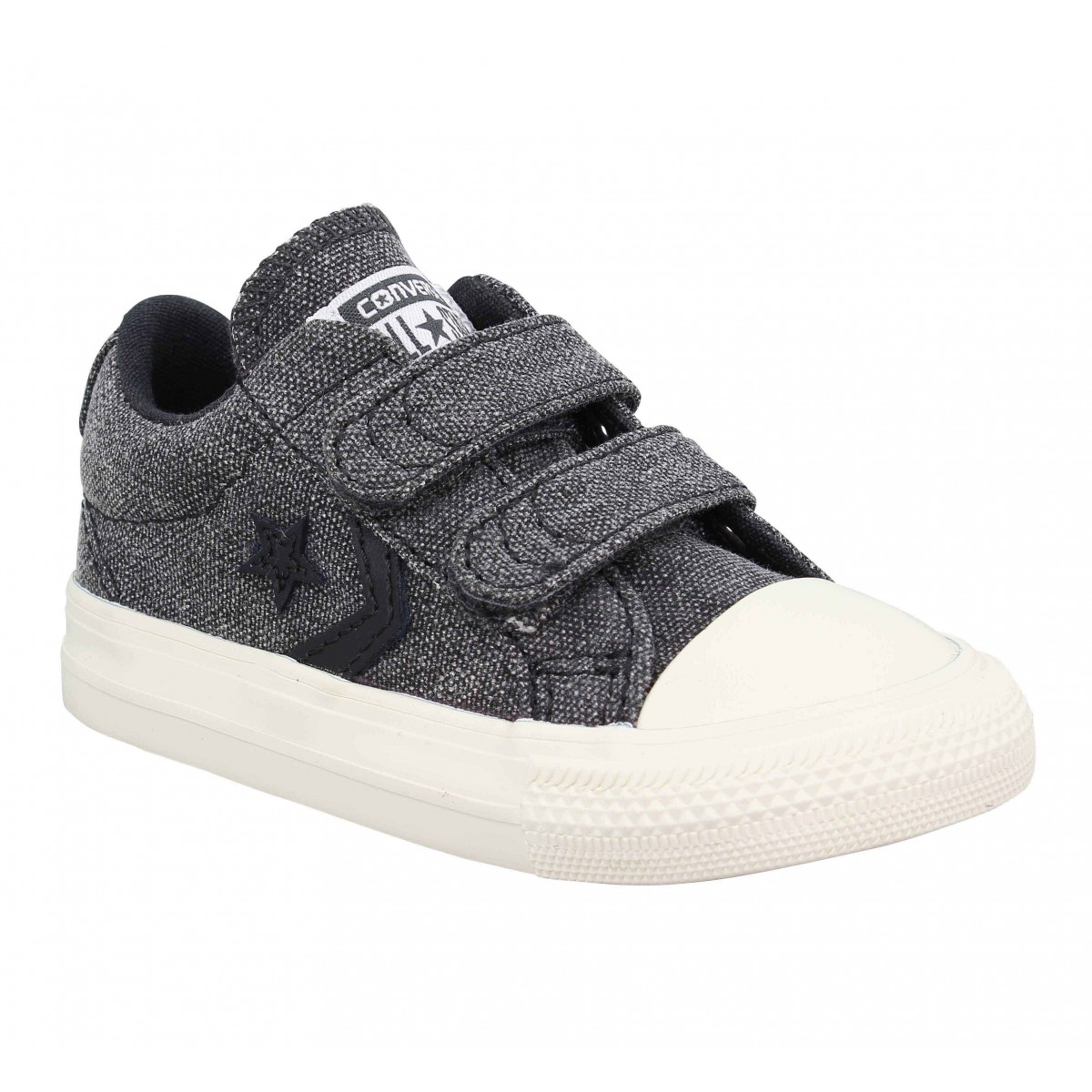 Baskets CONVERSE Star Player 2V toile Enfant Black