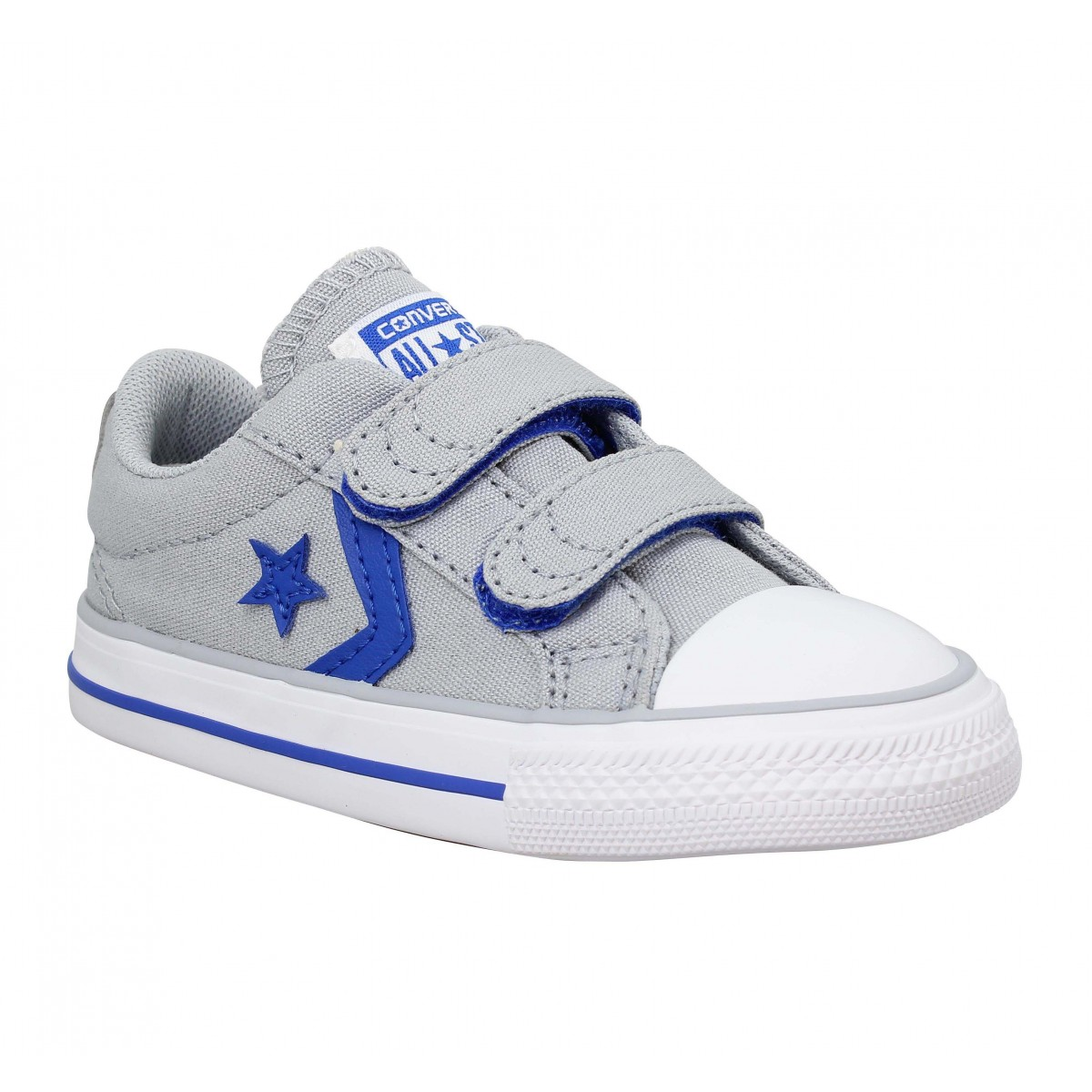Baskets CONVERSE Star Player 2V toile Enfant Grey