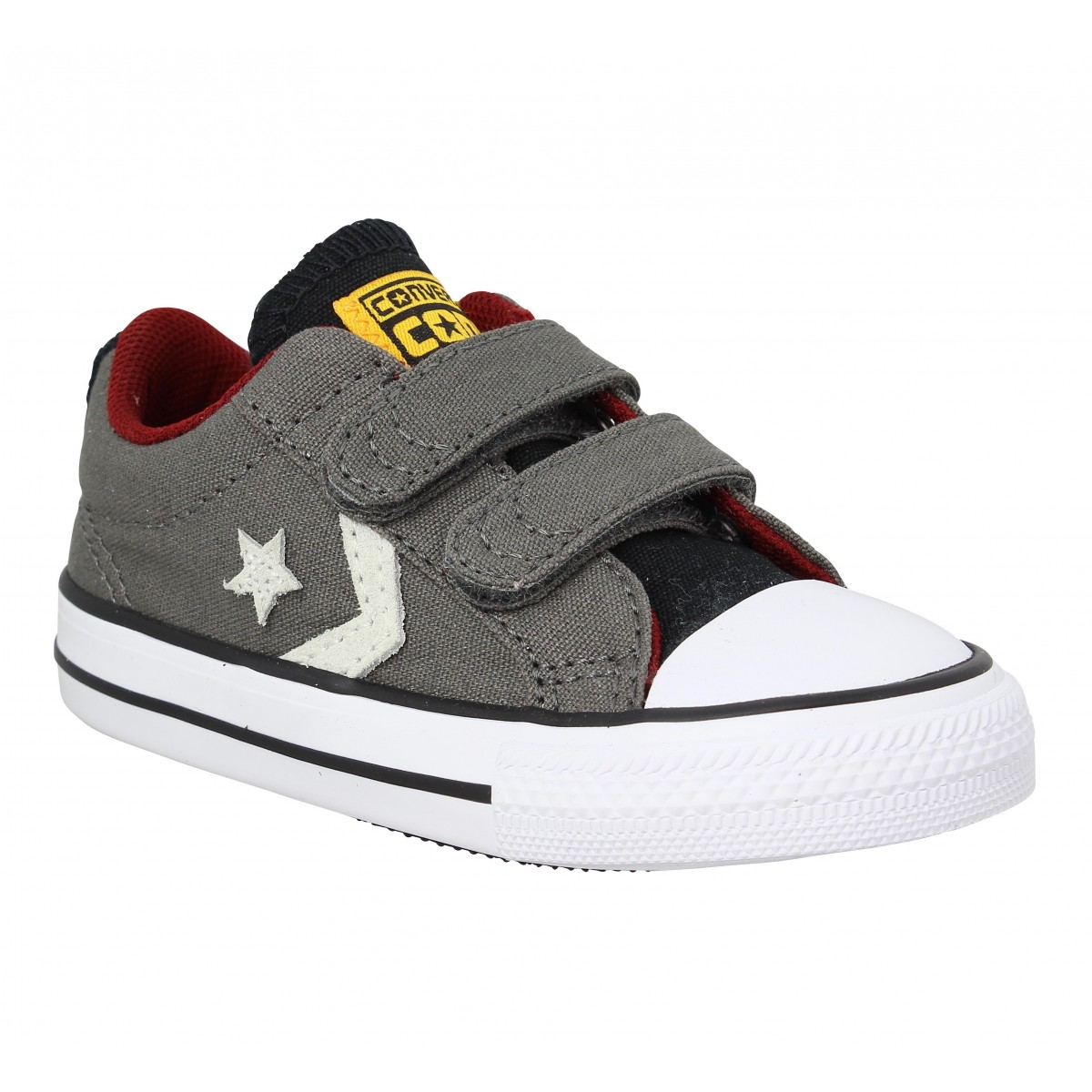 Baskets CONVERSE Star Player 2V toile Enfant Gris