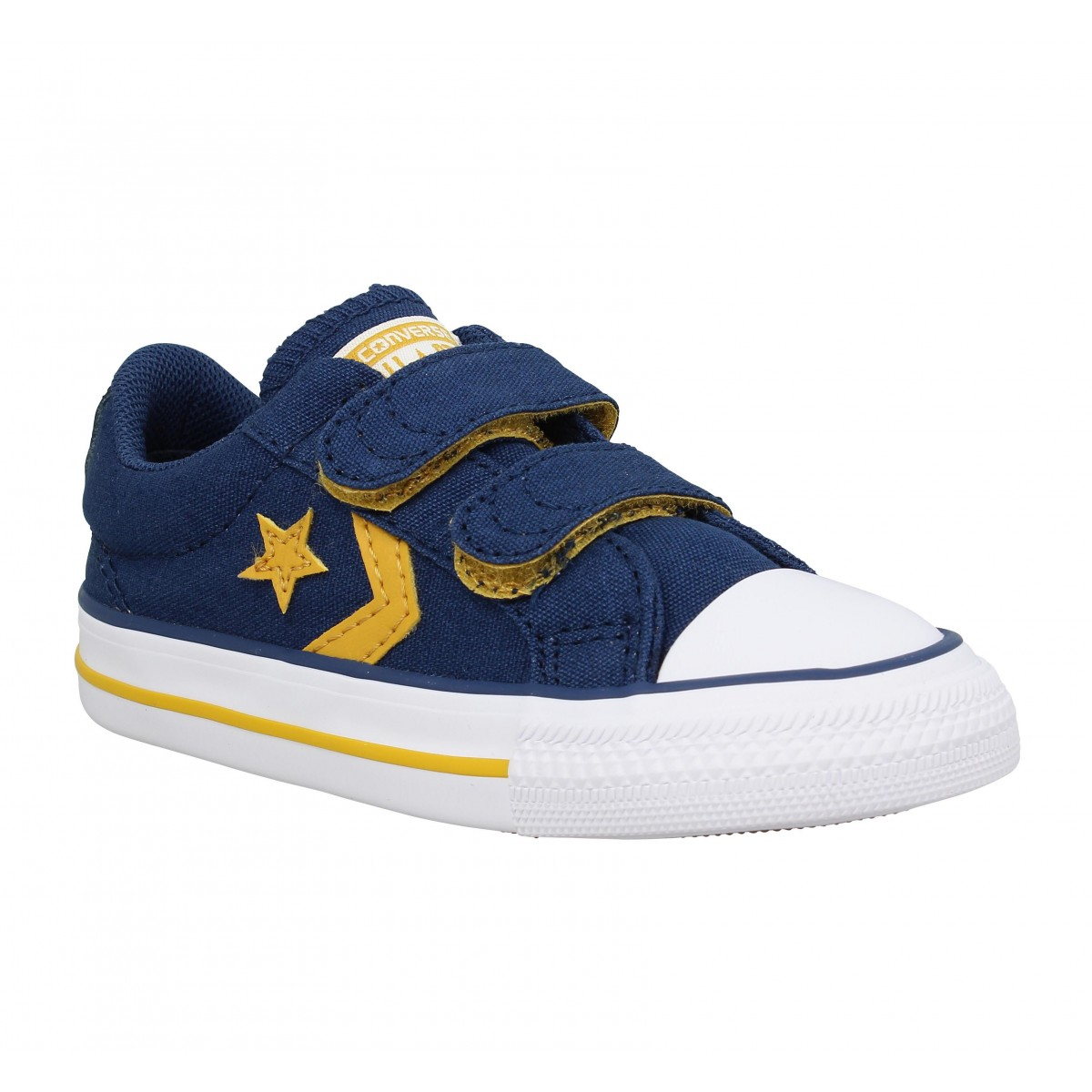 Baskets CONVERSE Star Player 2V toile Enfant Navy