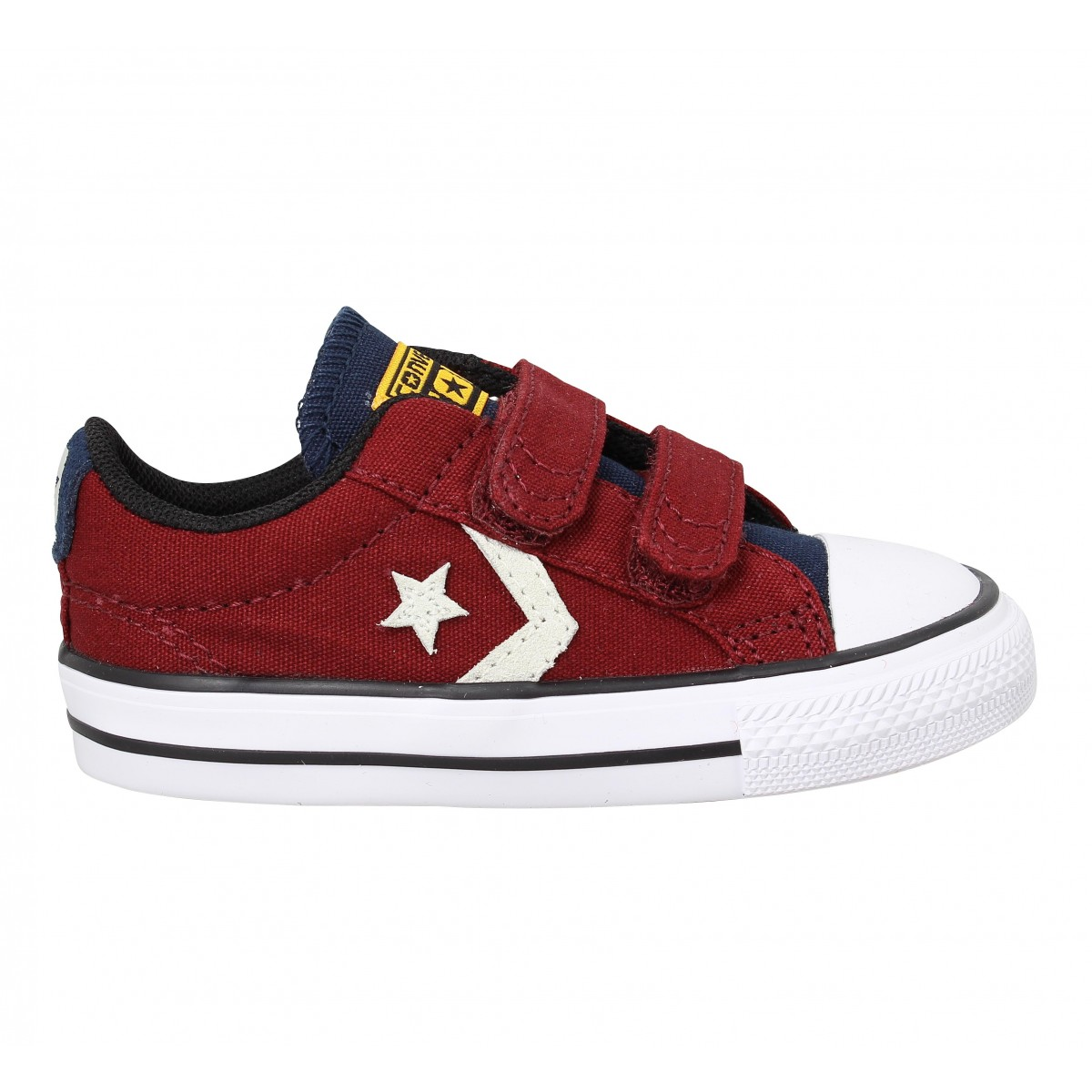 ab5175aa3b638 ... real converse star player 2v toile enfant red enfants fanny chaussures  db7ec 7796e