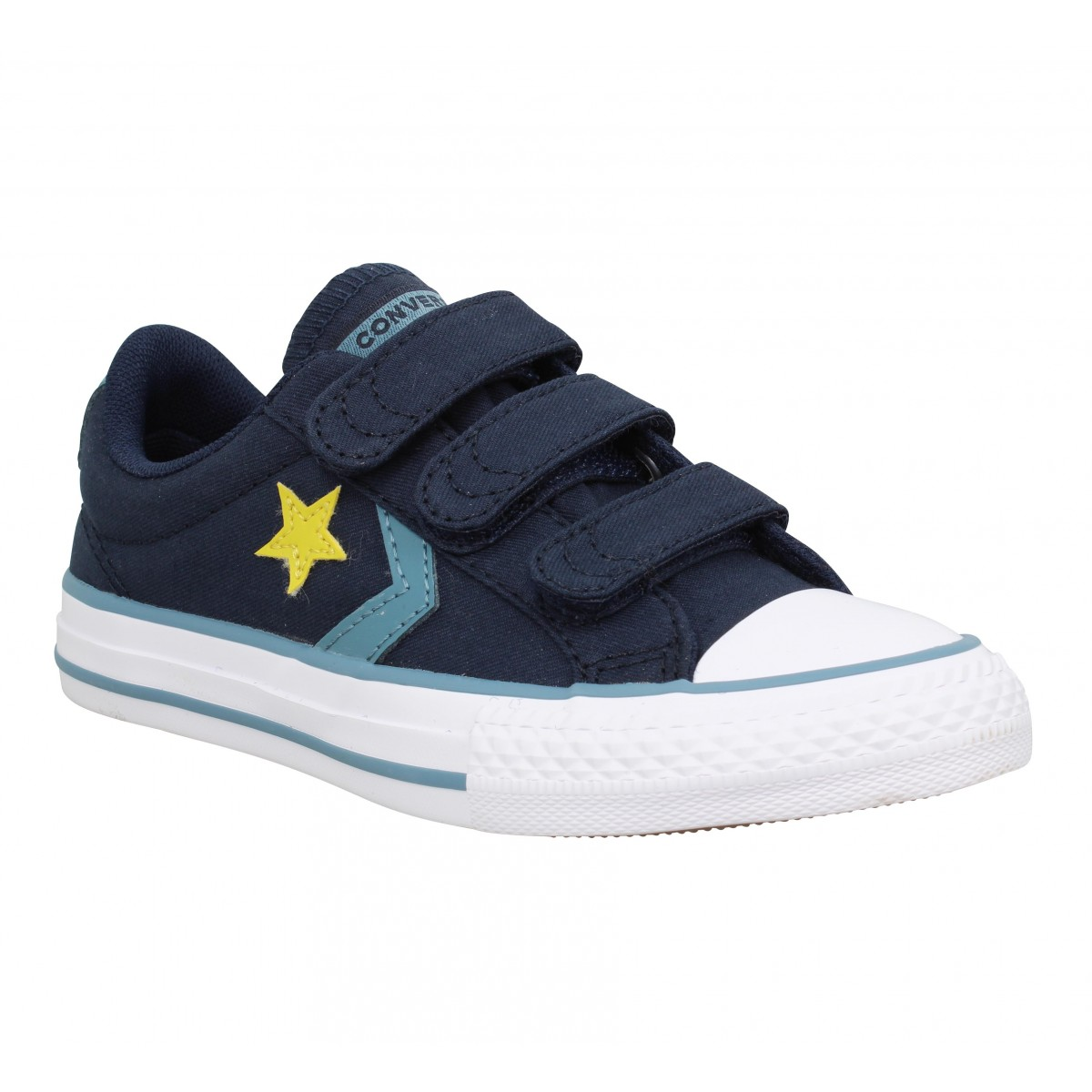87ad7800d67f3 Converse star player 3v ox toile enfant celeste enfants
