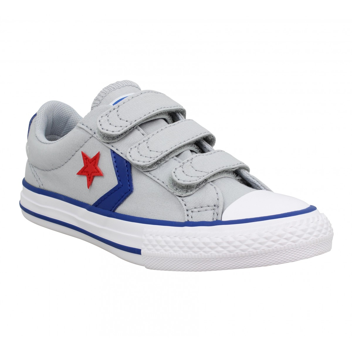 8ac27a4f34872 Converse star player 3v ox toile enfant grey enfants