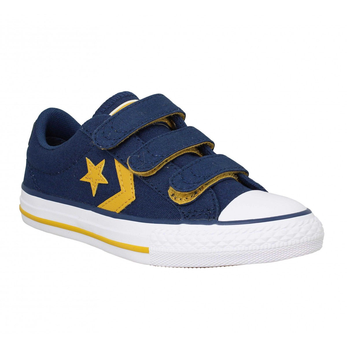 Baskets CONVERSE Star Player 3V toile Enfant Navy