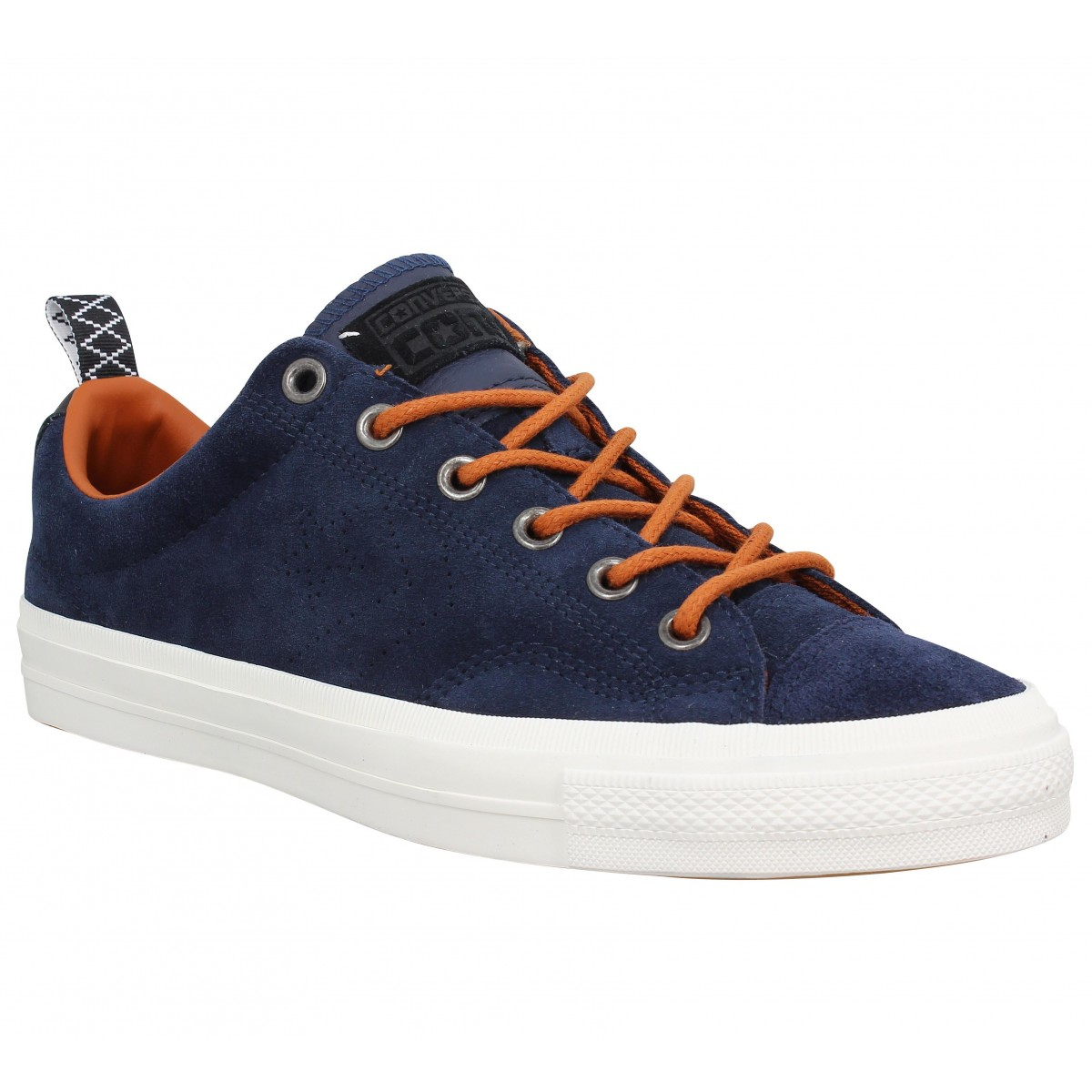 Baskets CONVERSE Star Player Premium suede Navy