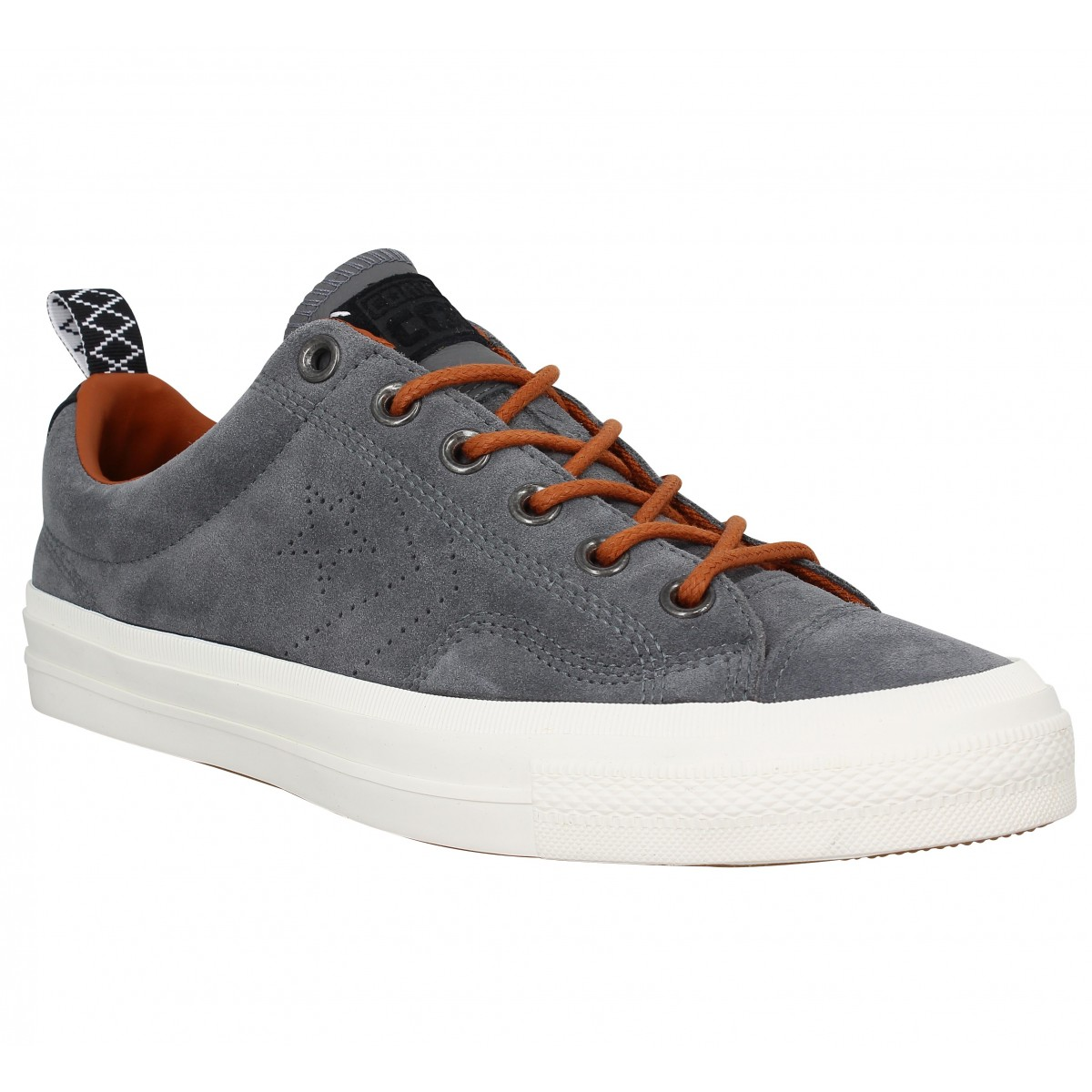 Baskets CONVERSE Star Player Premium suede Stone