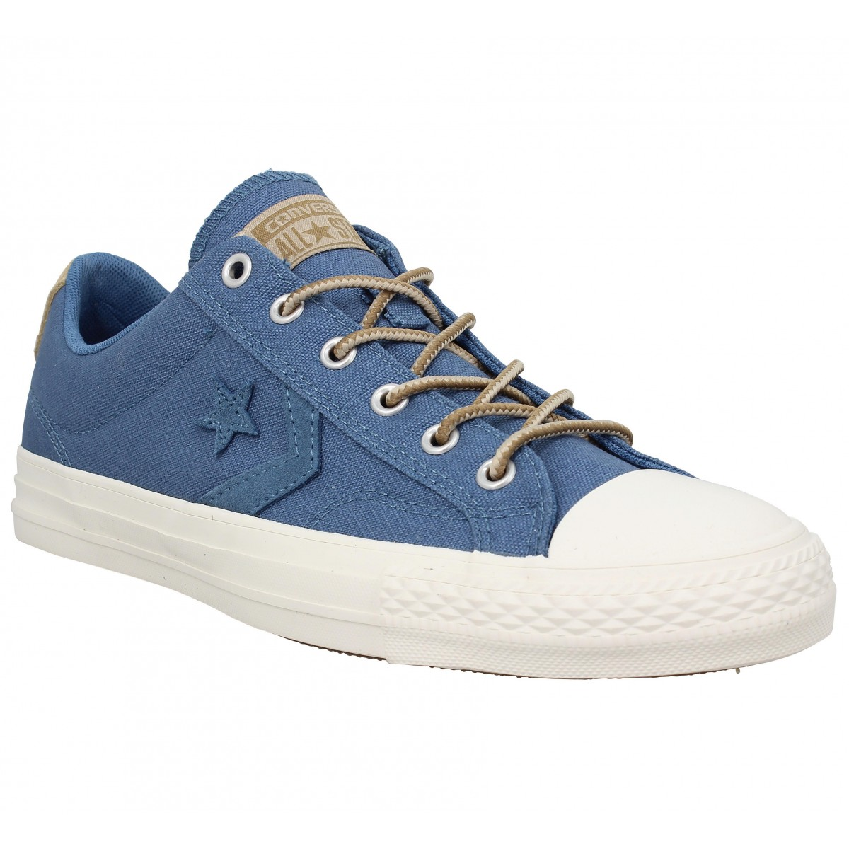 Baskets CONVERSE Star Player toile Homme Bleu Vintage