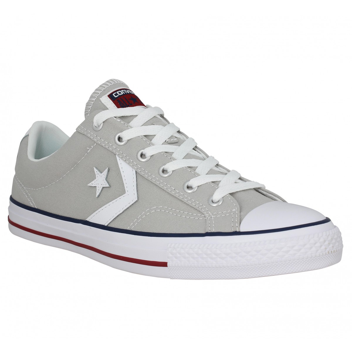 Baskets CONVERSE Star Player toile Homme Gris