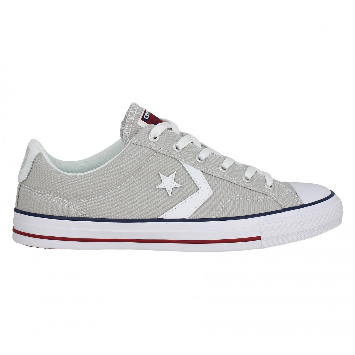 soldes converse star player toile homme gris homme fanny chaussures. Black Bedroom Furniture Sets. Home Design Ideas