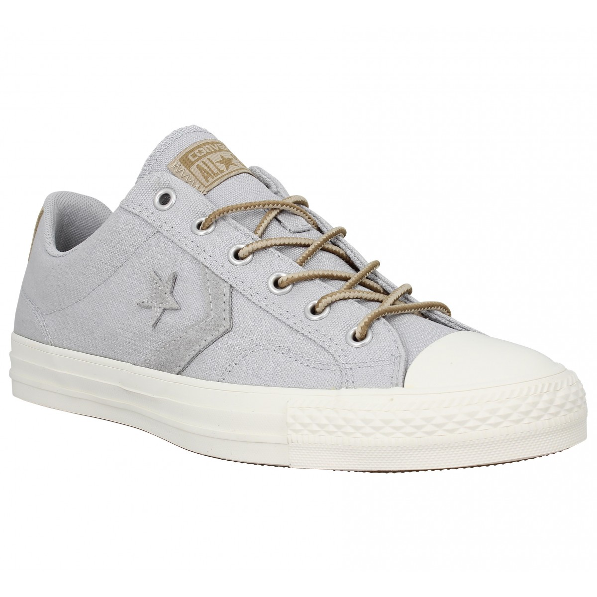 Baskets CONVERSE Star Player toile Homme Gris Vintage