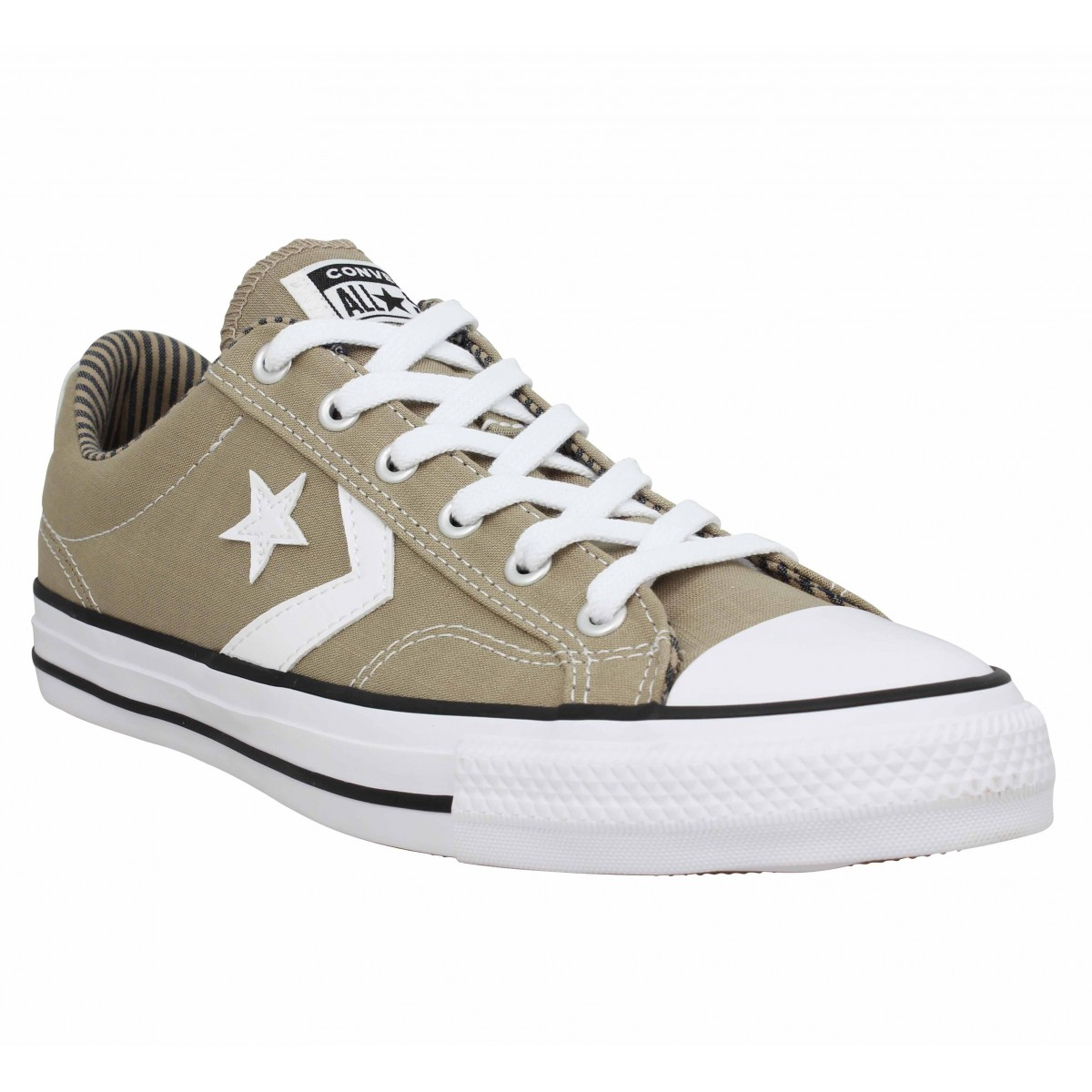 Baskets CONVERSE Star Player toile Homme Khaki