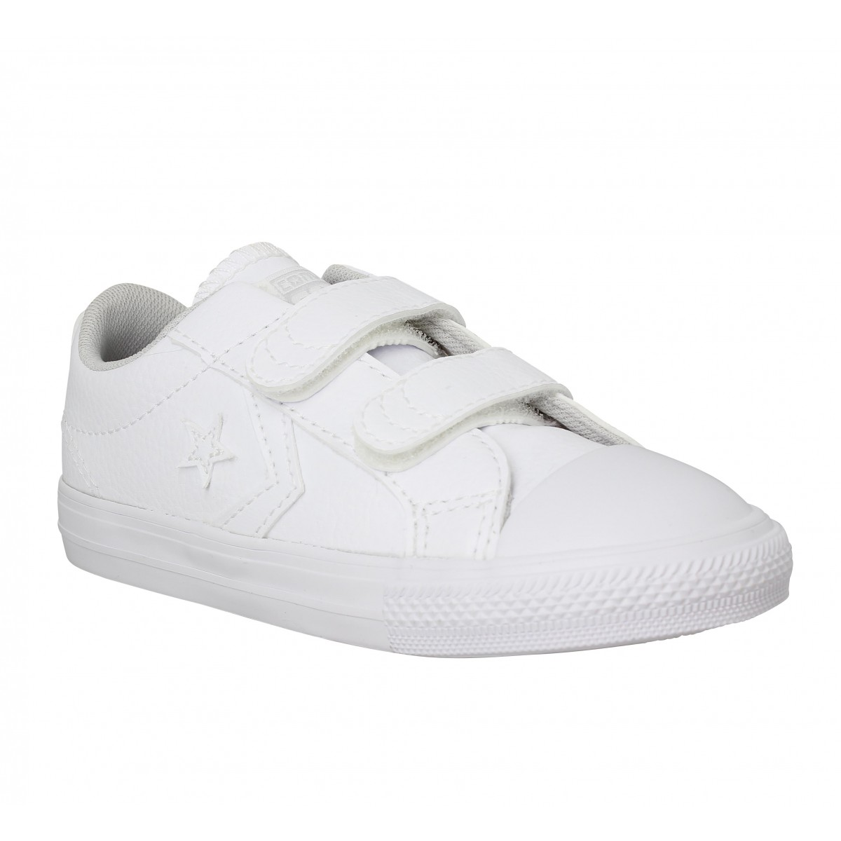 Baskets CONVERSE Star Player velcro Enfant Blanc