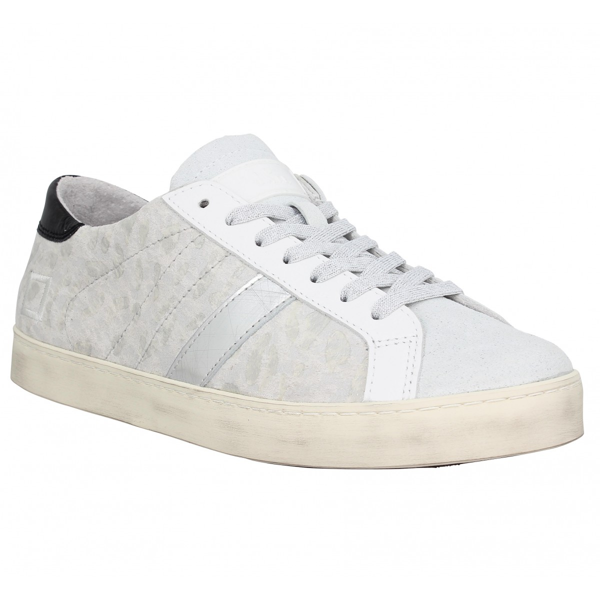 D.A.T.E Marque Hill Low Pop Cuir...