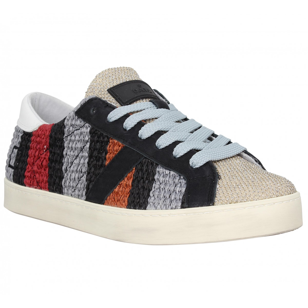 Baskets D.A.T.E Hill Low Rafia Stripe
