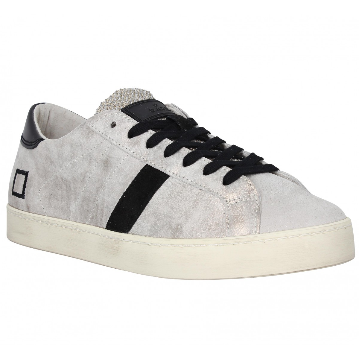 D.A.T.E Marque Hill Low Stardust Cuir...