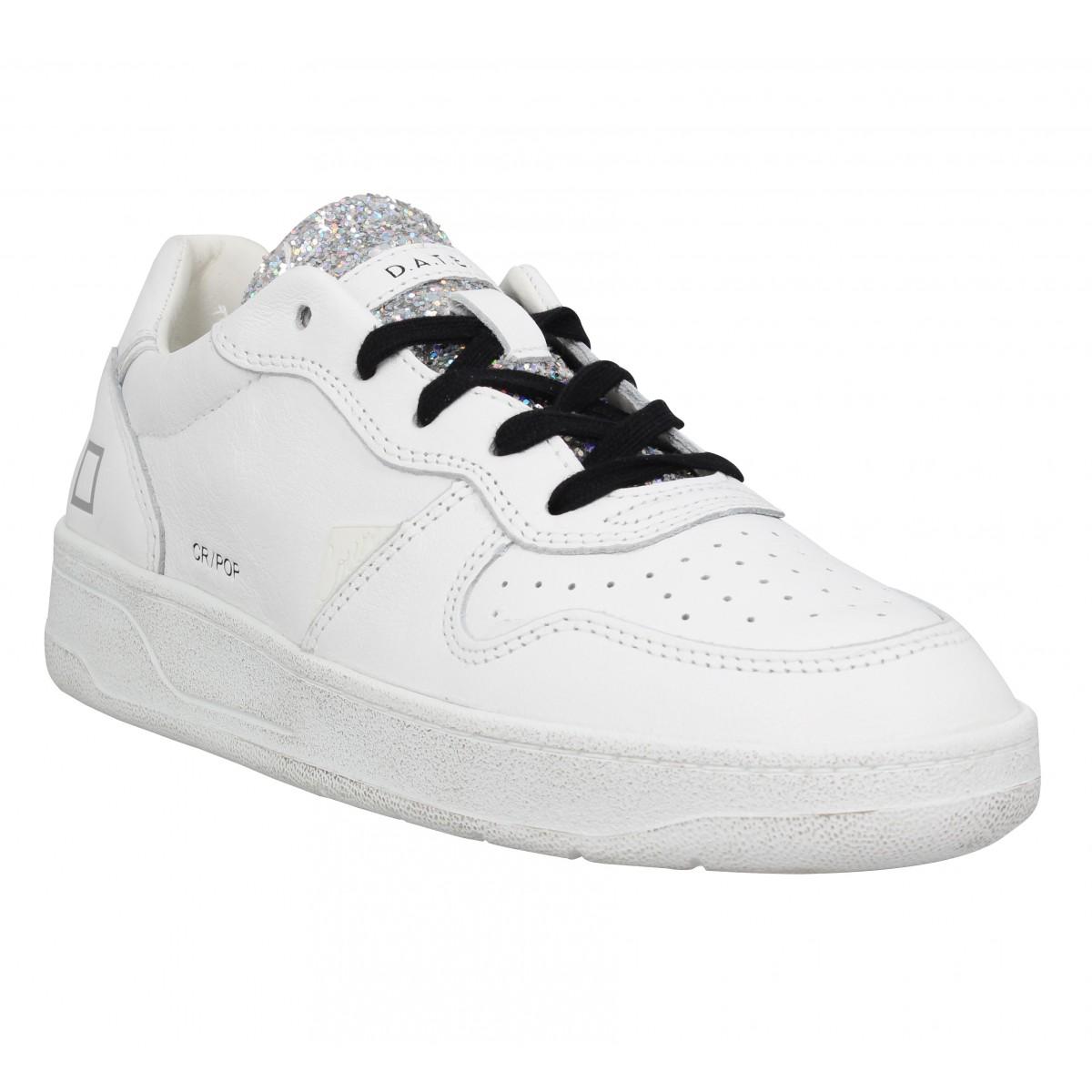 D.A.T.E Femme Date Sneakers Court Pop...