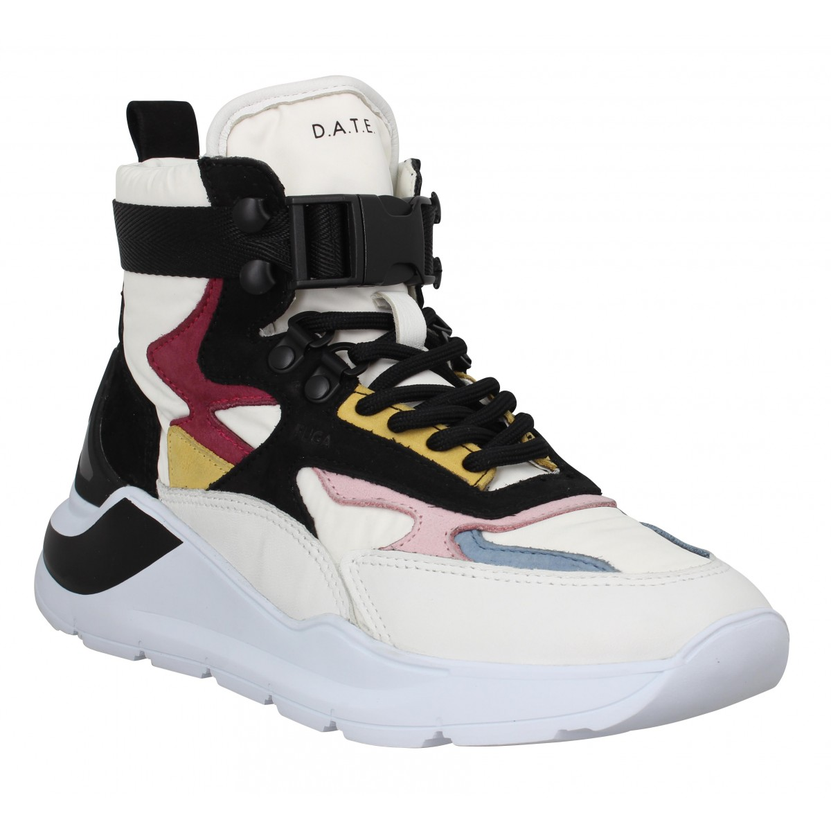 D.A.T.E Marque Date Sneakers Fuga High...