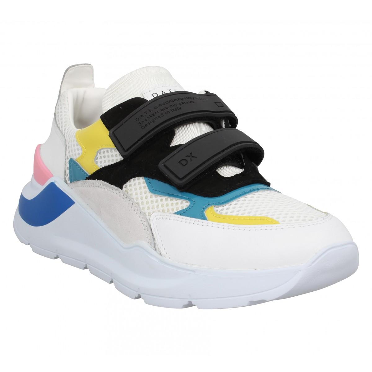 D.A.T.E Femme Date Sneakers Fuga Strap...