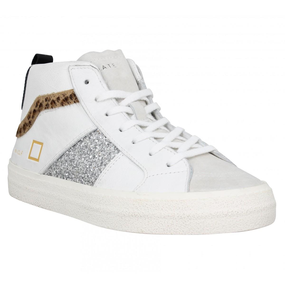 D.A.T.E Femme Date Sneakers Hawk Cuir...