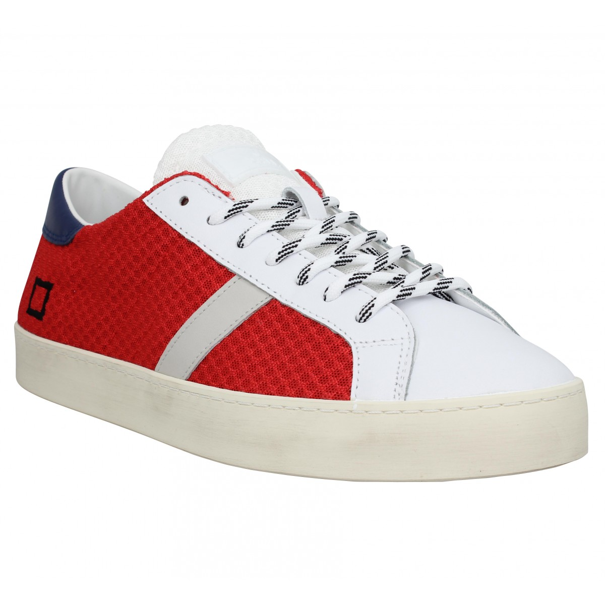 Baskets DATE SNEAKERS Hill Low mesh Homme Rouge