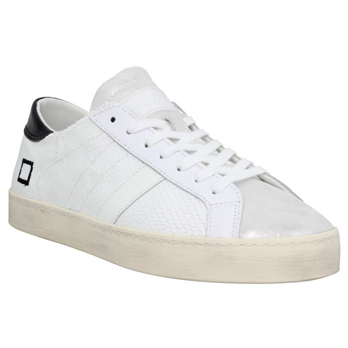 Baskets DATE SNEAKERS Hill Low roof Femme Blanc