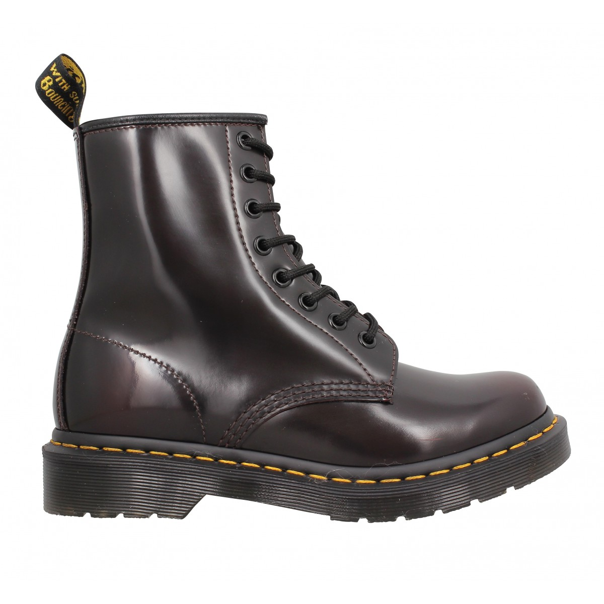 dr martens 1460 arcadia femme cherry red femme fanny chaussures. Black Bedroom Furniture Sets. Home Design Ideas