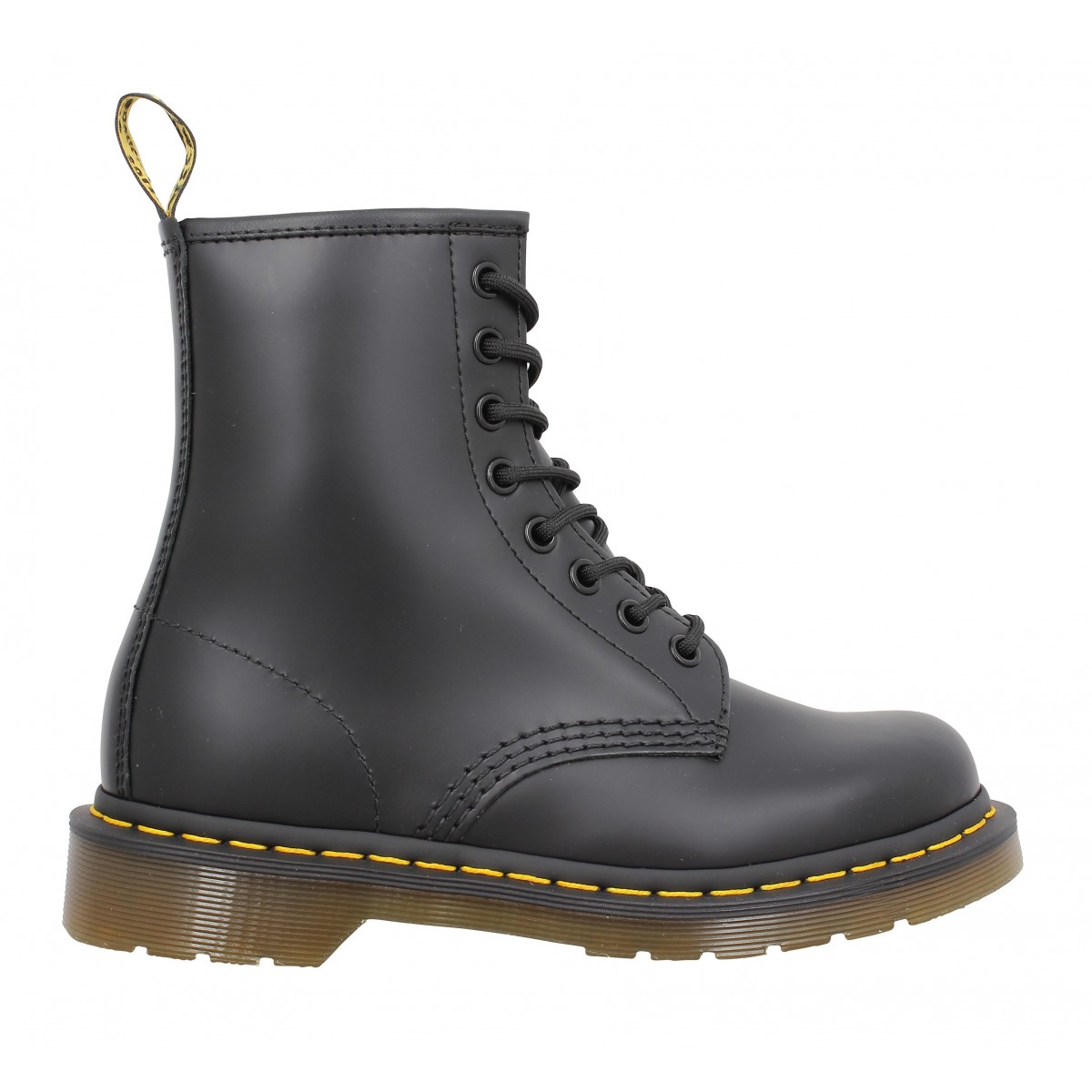 dr martens 1460 cuir femme noir femme fanny chaussures. Black Bedroom Furniture Sets. Home Design Ideas