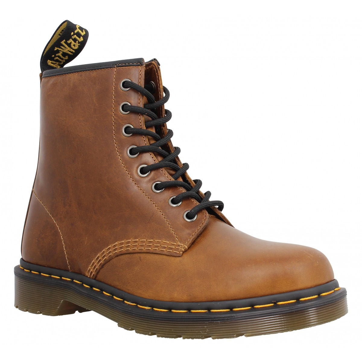 Bottines Dr MARTENS 1460 cuir Homme Butterscotch