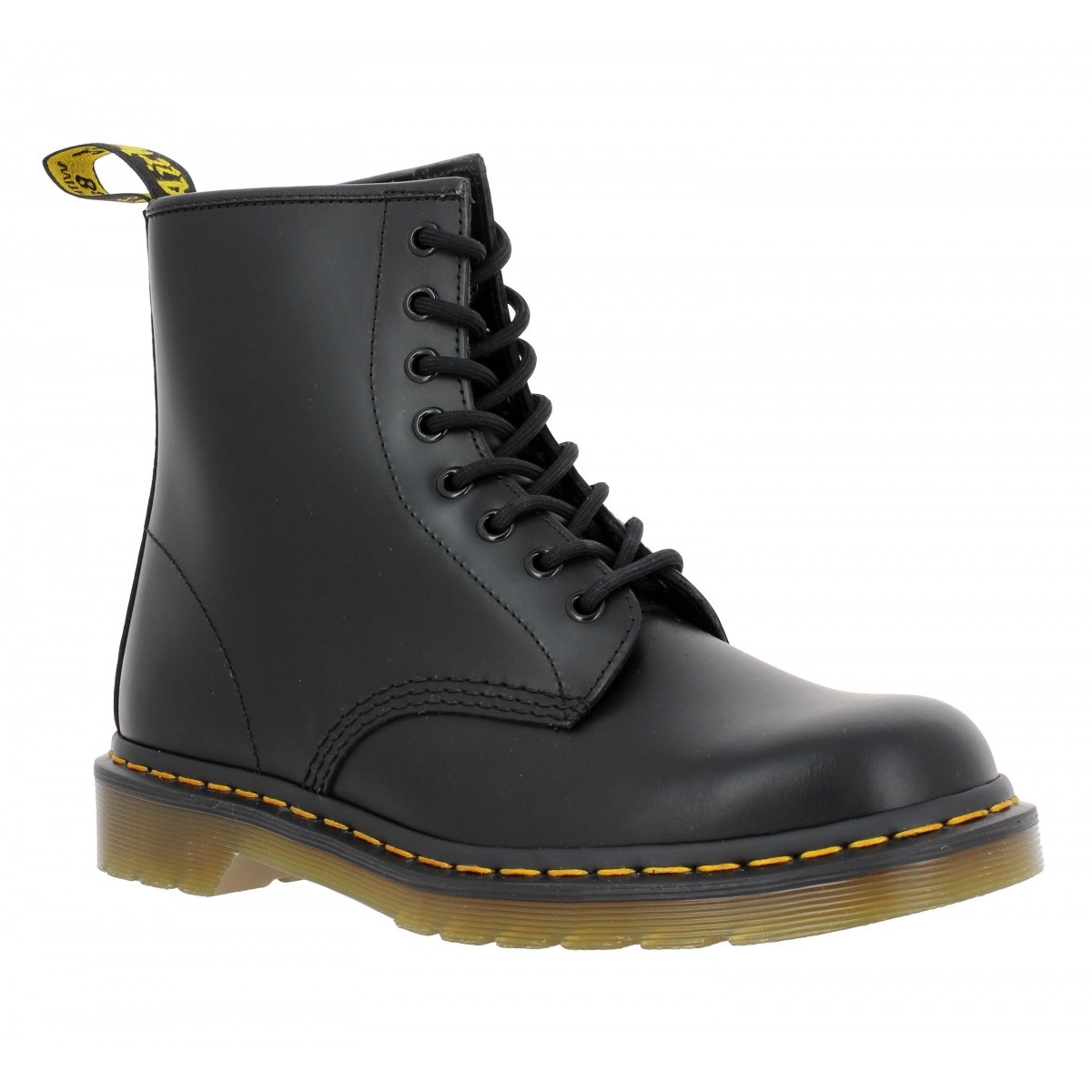 dr martens 1460 cuir homme noir fanny chaussures. Black Bedroom Furniture Sets. Home Design Ideas