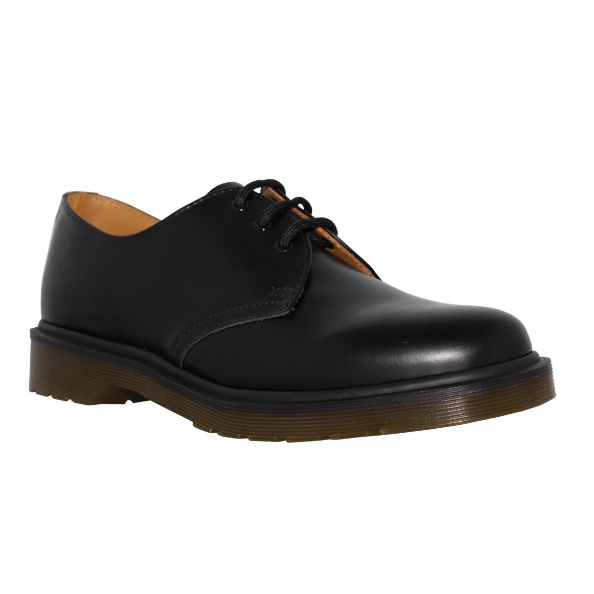 dr martens 1461 cuir homme noir fanny chaussures. Black Bedroom Furniture Sets. Home Design Ideas