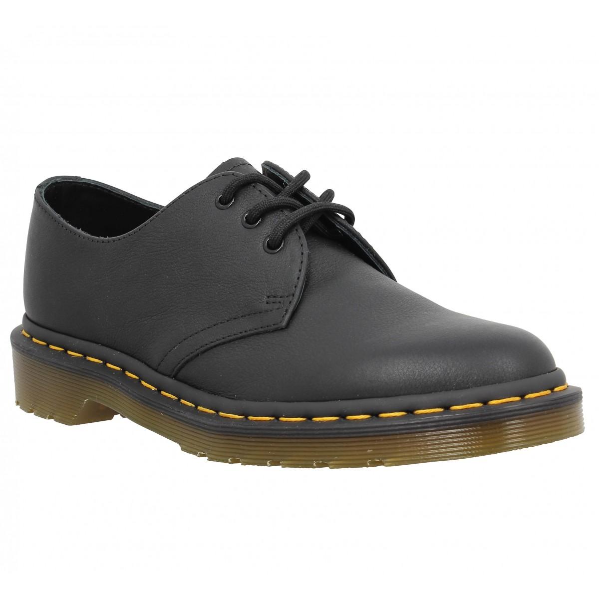 Chaussures à lacets Dr MARTENS 1461 virginia Femme Noir
