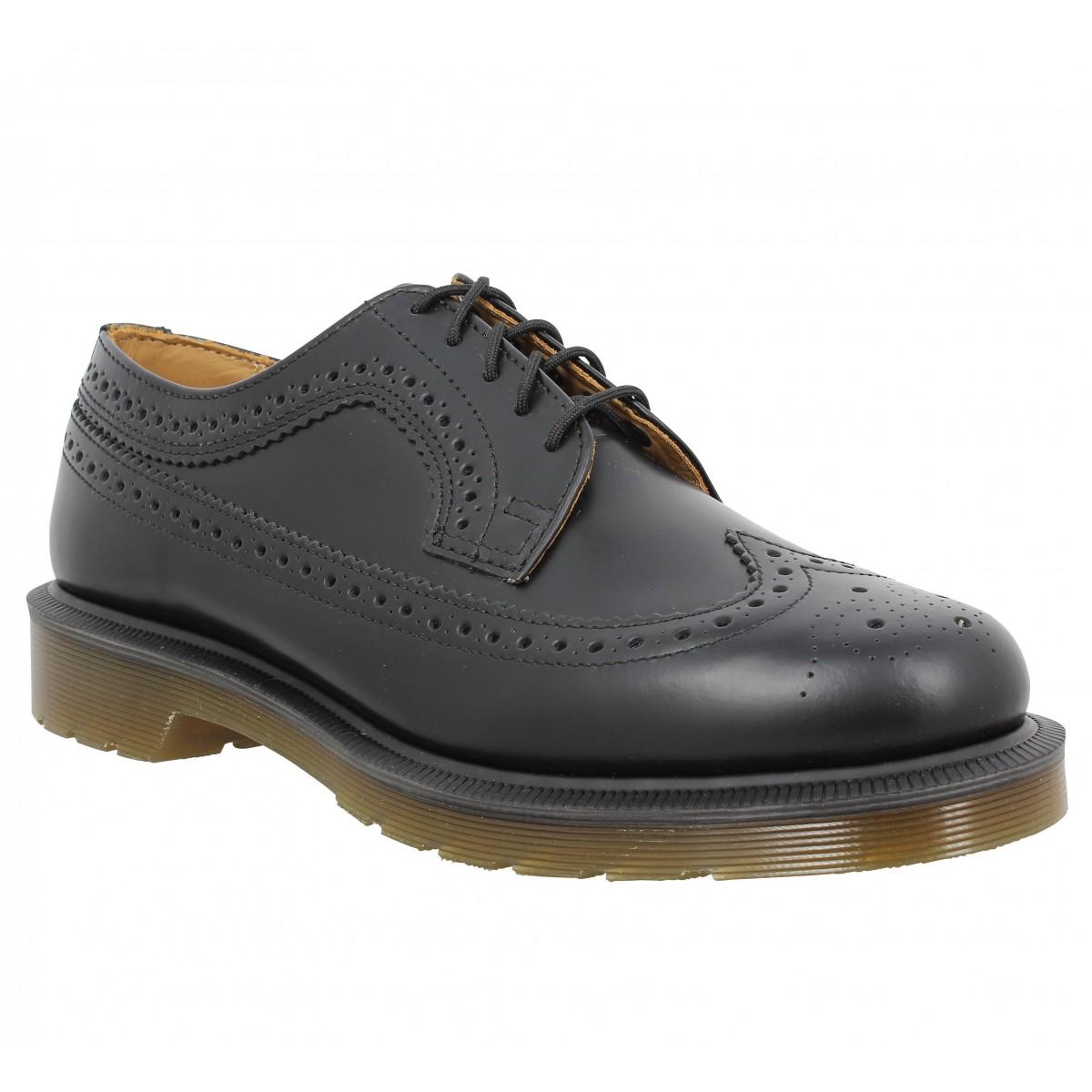 Chaussures à lacets Dr MARTENS 3989 smooth Noir
