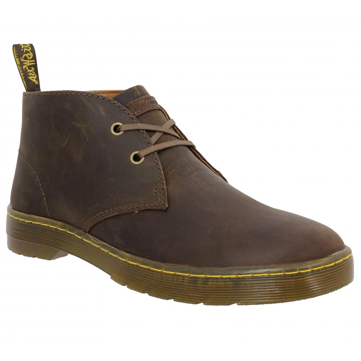 Bottines Dr MARTENS Cabrillo Marron