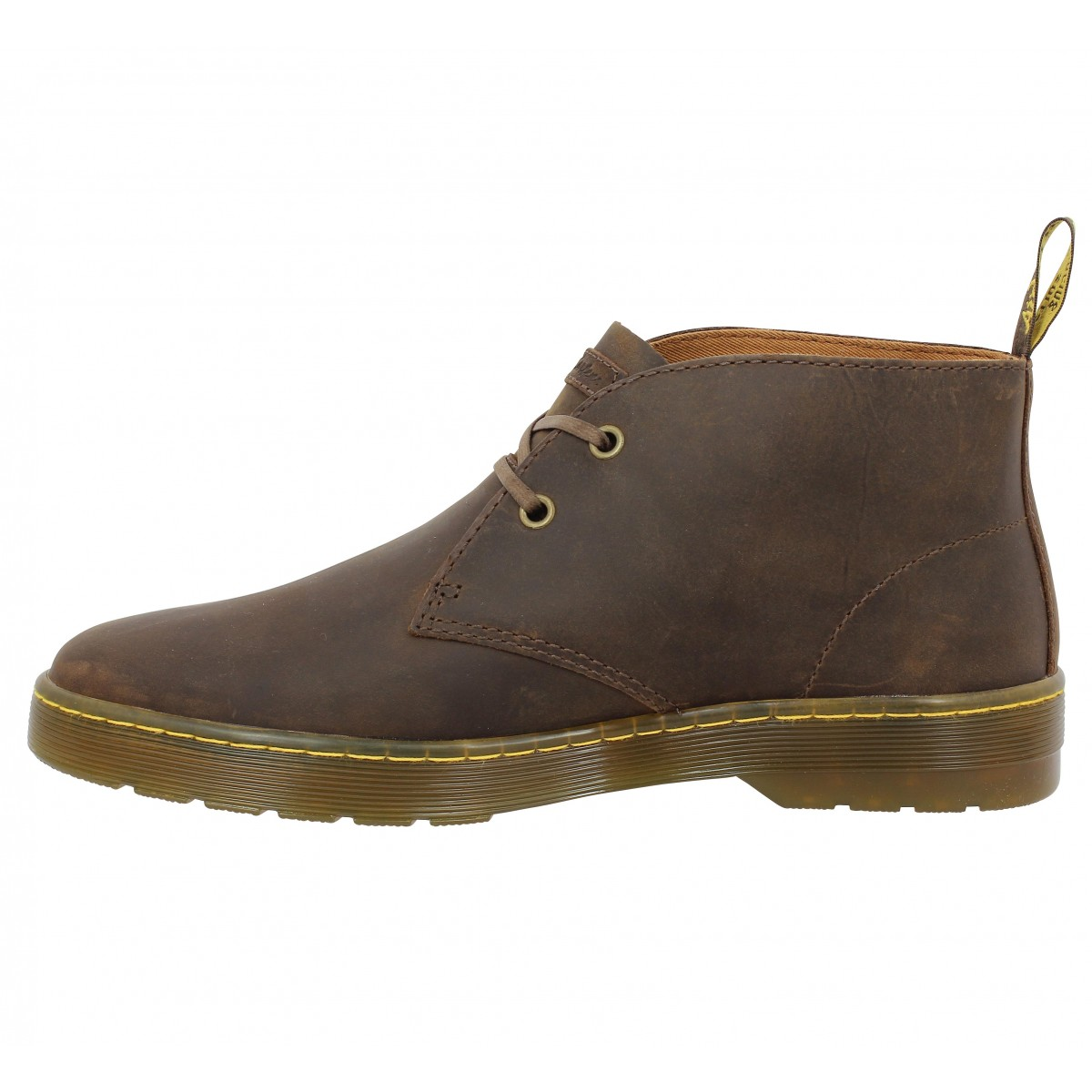 Dr martens cabrillo marron homme | Fanny chaussures