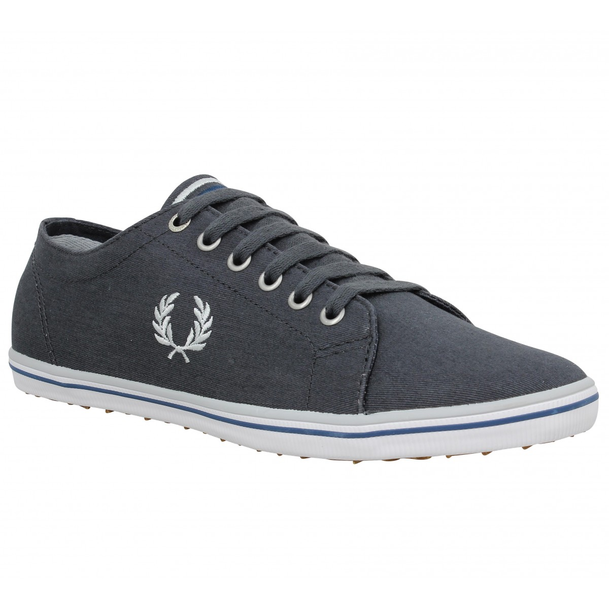 Baskets FRED PERRY Kingston Charcoal