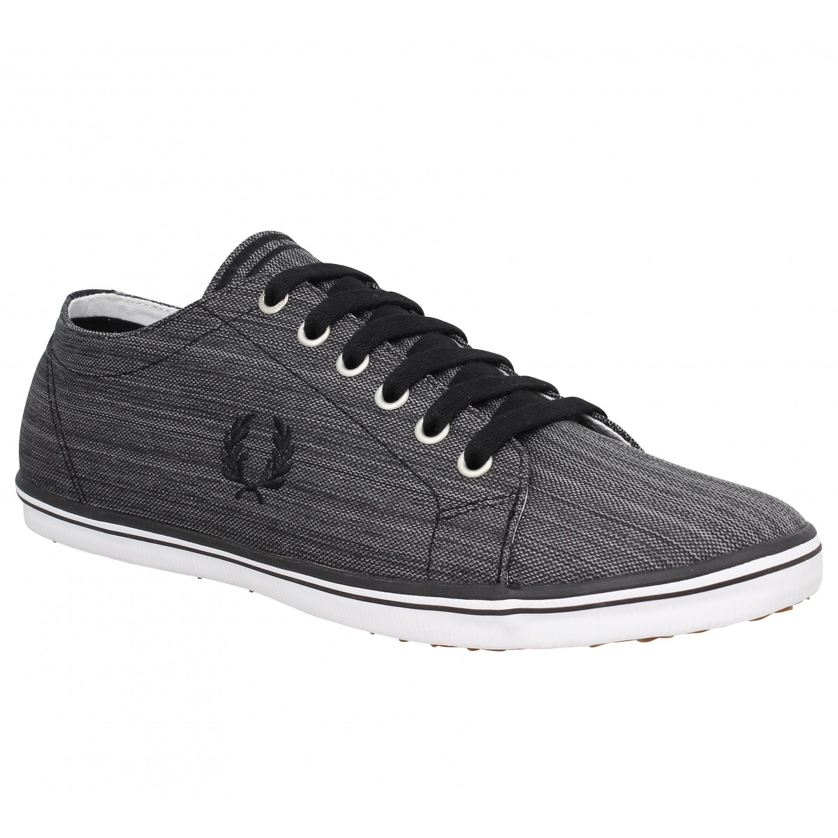 Baskets FRED PERRY Kingston nylon Noir