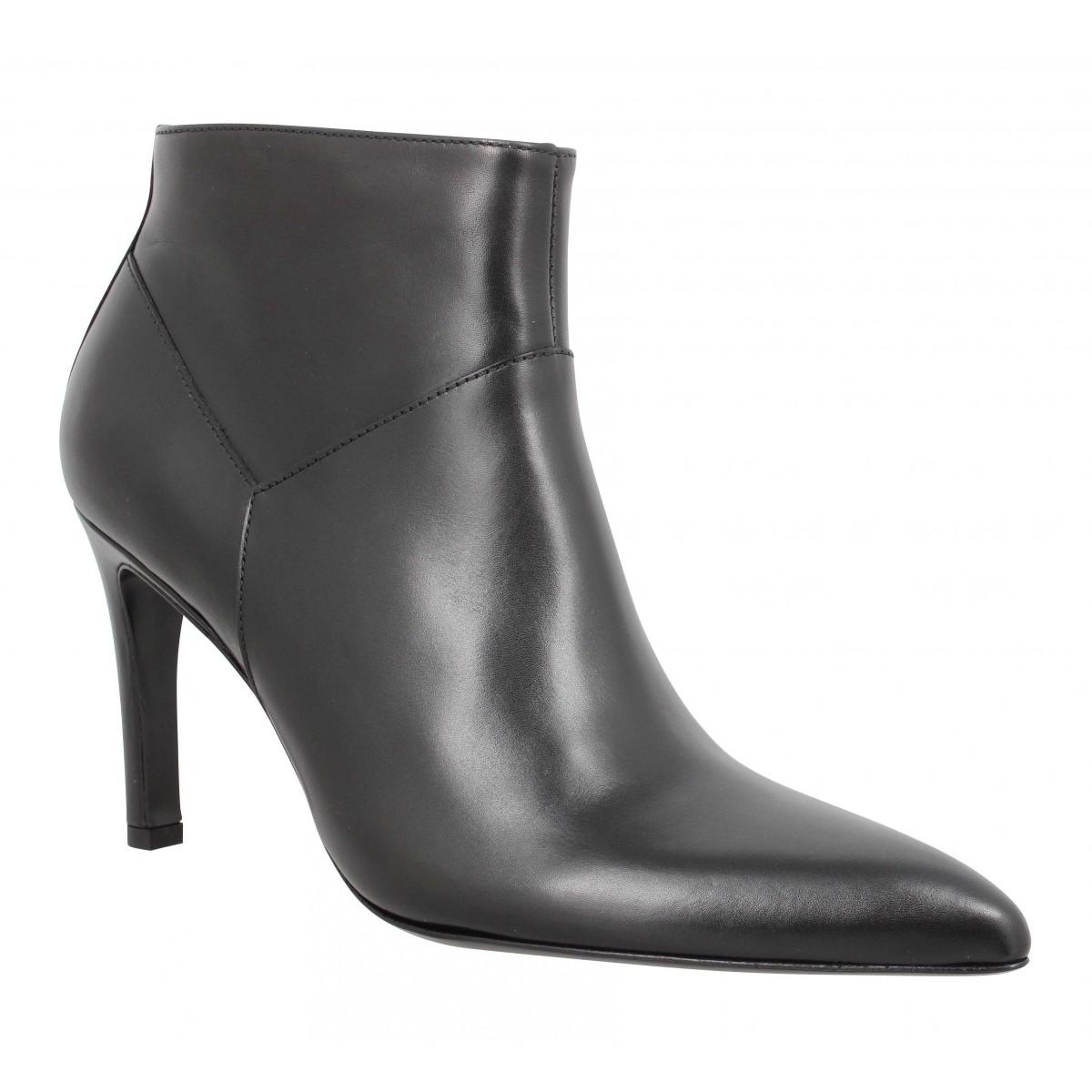 Bottines FREE LANCE Forel 7 Low Zip Boot cuir Femme Noir