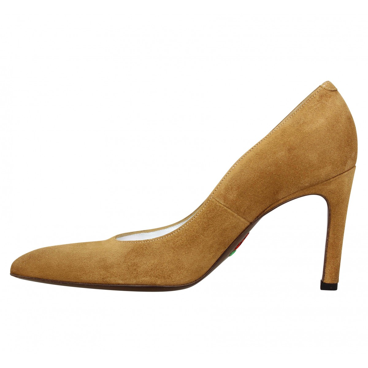 new products 30b7c fab30 Escarpins FREE LANCE Forel 7 Pumps velours Femme Caramel. 1