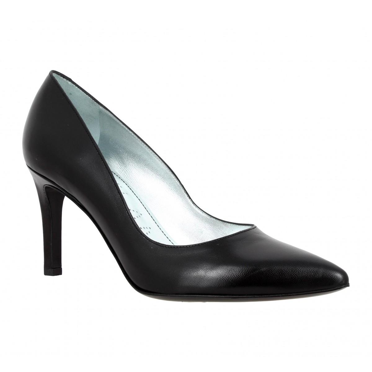 Escarpins FREE LANCE Itlys 7 Pumps cuir Femme Noir