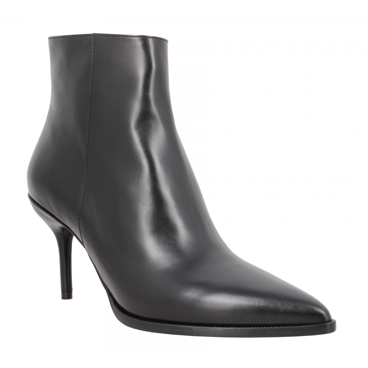 Bottines FREE LANCE Jamie 7 Zip Boot cuir lisse Femme Noir
