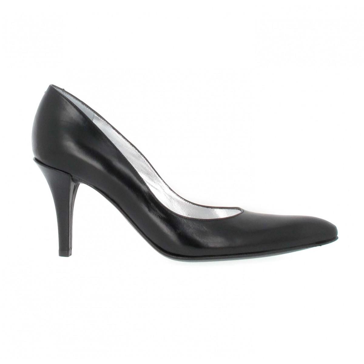 a9f1946991ff32 Free lance jaspe 7 cuir femme noir   Fanny chaussures