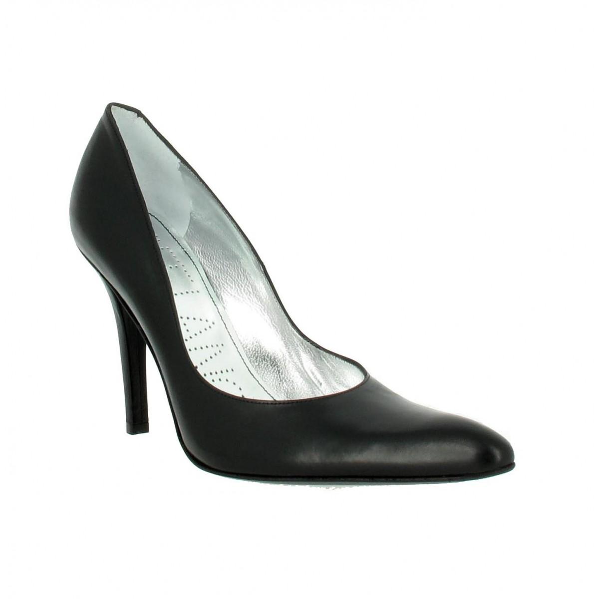 Escarpins FREE LANCE Jaspe 9 cuir Femme Noir