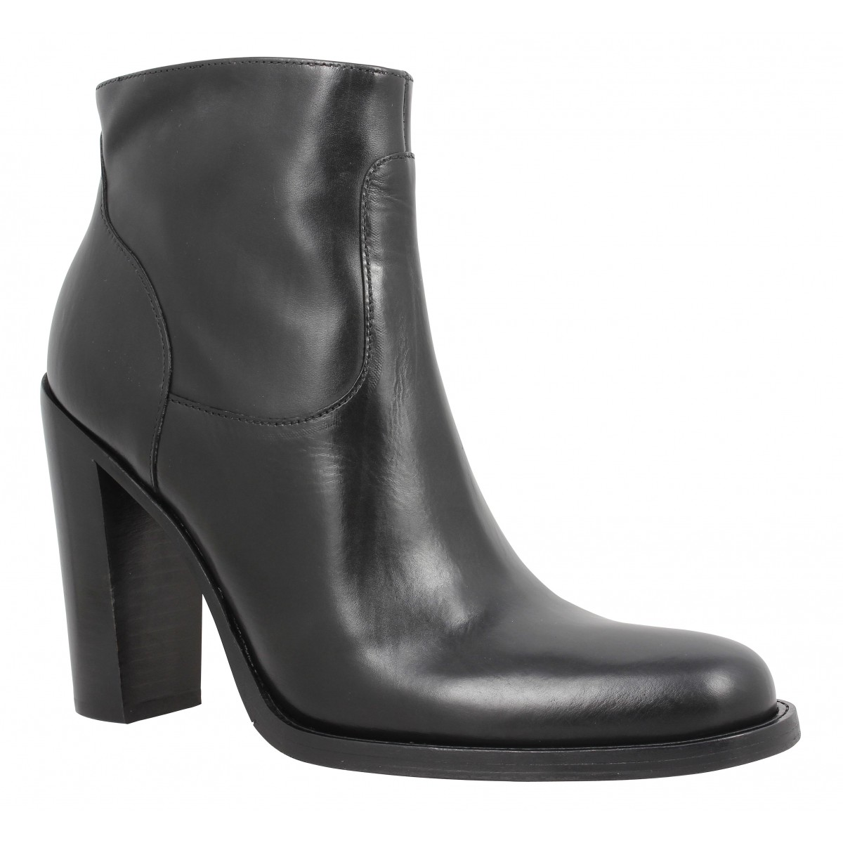 Bottines FREE LANCE Legend 9 Zip Boot berbero Femme Noir